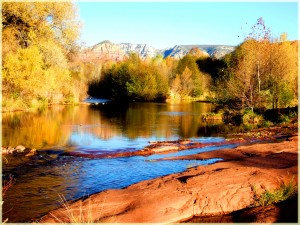 Afternoon at Oak Creek Canyon-Verde Valley