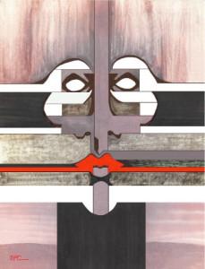 Metal Face by Norberto Cisneros