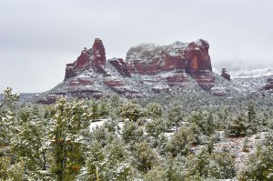 Snow Storms in Sedona 2010