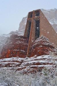 Snow Storms in Sedona